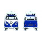Désodorisant à suspendre VW VolkswagenT1 Bulli bleu (Parfum océan)