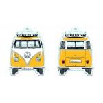 Désodorisant à suspendre VW VolkswagenT1 Bulli jaune (Parfum citron)