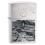 Briquet essence Zippo Jack Daniel's Scene of Lynchburg N°6 série limitée à 4777 pcs