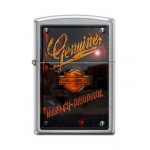 BRIQUET ESSENCE ZIPPO HARLEY-DAVIDSON BAR & SHIELD CHROME