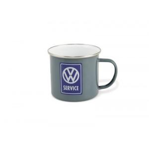 Tasse à café (coffee mug) Service VW Volkswagen avec le bonhomme symbolisant la marque