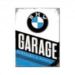 Magnet 8 x 6 cm BMW Garage
