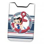 Housse téléphone portable Betty Boop marine