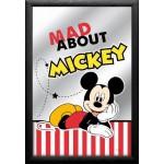 Cadre miroir Disney Minnie : coeur