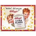Magnet 8 x 6 cm Kellogg's et les petits enfants espiègles