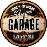 Horloge murale : Harley-Davidson Garage