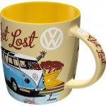Tasse à café (coffee mug) Vw Volkswagen Service T1 Bulli dans la savane