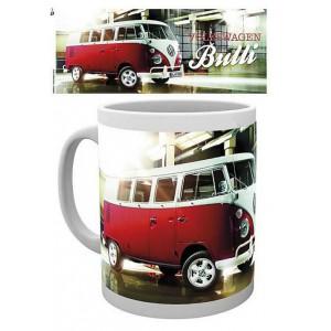 Tasse à café (coffee mug) VW Volkswagen T1 BULLI rouge et blanc