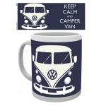 "Tasse à café (coffee mug) VW Volkswagen T1 Bulli ""Keep calm and camper van"""