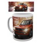 Tasse à café (coffee mug) Golft GTI VW Volkswagen rougeT1 BULLI rouge et blanc