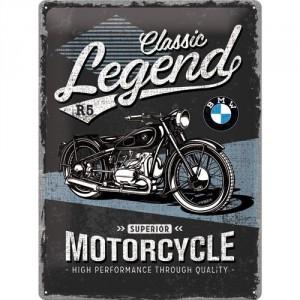 Plaque en métal 30 X 40 cm BMW : Classic Legend R5