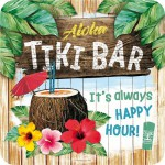 Sous-verre Tiki Bar Aloha