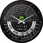 Horloge murale vintage : John Deere tachymètre