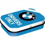 Boîte à pilules BMW : Drivers Only