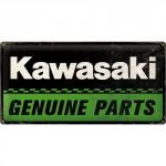 Plaque en métal 25 x 50 cm : Harley-Davidson Garage : Service & Repair