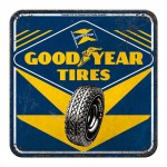 Sous-verre Goodyear tires (pneus)