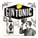 Sous-verre Gin Tonic