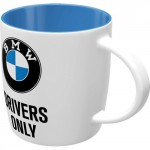 Tasse à café (coffee mug) BMW : Drivers only