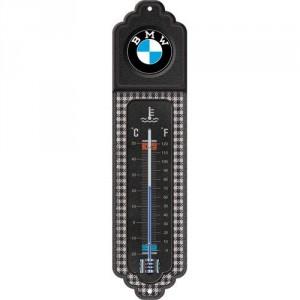 Thermomètre : BMW tissu Pépita