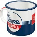 Tasse à café (coffee mug) en métal : Vespa Service
