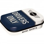 Boîte à pilules logo Mini - Drivers Only