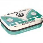 "Boîte à pilules VW Volkswagen ""L'aventure t'attend"""