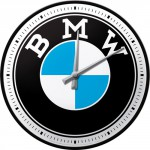 Horloge murale vintage : BMW logo