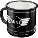 Tasse à café (coffee mug) en métal : MINI