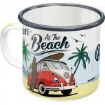 Tasse à café (coffee mug) : VW Volkswagen T1 Bulli at the beach (à la plage)