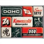 Set de 9 magnets : Vintage Usa