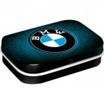 Boîte à pilules BMW aspect tissu
