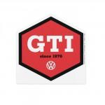 Grattoir de pare-brise en forme de VW Volkswagen GTI rouge