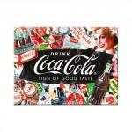 Magnet 8 x 6 cm Coca-Cola publicité pêle-mêle