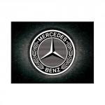 Magnet 8 x 6 cm Logo Mercedes-Benz