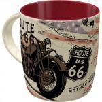 Tasse à café (coffee mug) Route 66 Mother road of America