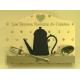 Lutrin en bois - Support de livre de recette décor vintage cafetière
