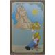 Plaque en métal 20 X 30 cm Simpsons : Sphinx
