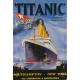 Plaque en métal 20 X 30 cm Titanic