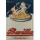 Plaque en métal 20 X 30 cm Pâtes Barilla