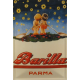 Plaque en métal 20 X 30 cm Pâtes Barilla - Bébés rêveurs