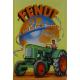 Plaque en métal 20 X 30 cm Fendt : Tracteur