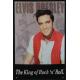 Plaque en métal 20 X 30 cm Elvis Presley - Le roi du rock 'n' roll