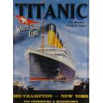Plaque en métal 30 X 40 cm Titanic