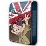 Housse téléphone portable à rabat Disney : Simplet smile