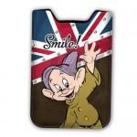 Housse téléphone portable Disney : Simplet smile