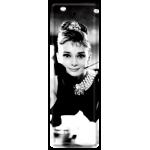 Marque-pages en métal Audrey Hepburn