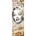 Marque-pages en métal Marilyn Monroe