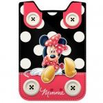 Housse téléphone portable Disney : Minnie boutons