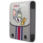 Housse téléphone portable à rabat Tom & Jerry