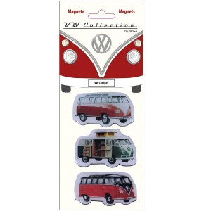 Set de 3 magnets VW Volkswagen : Camper